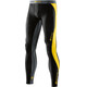 Skins M's DNAmic Long Tights Black/Citron